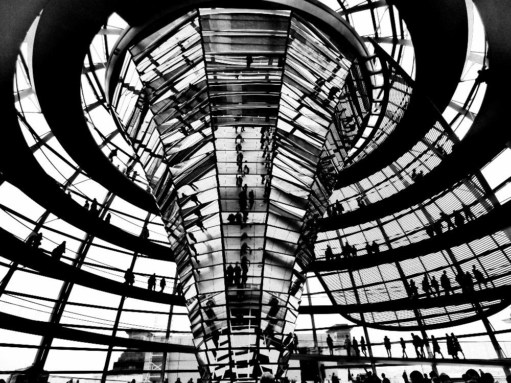 Reichstagsgebaude Inside Photo